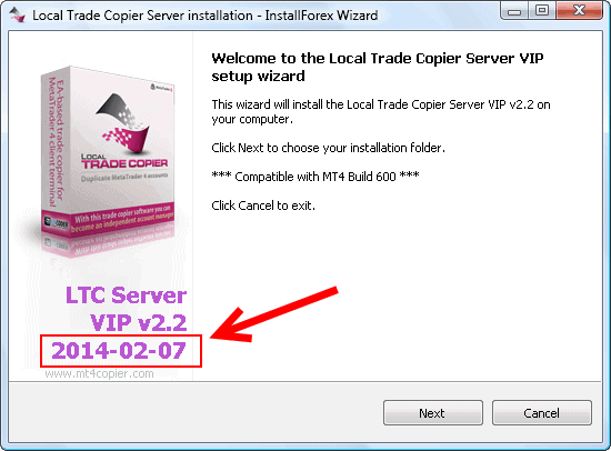 Local Trade Copier auto installer latest version 2014-02-07
