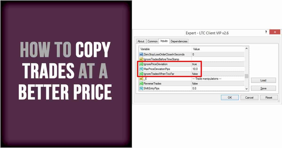 How to copy trades at a better price.