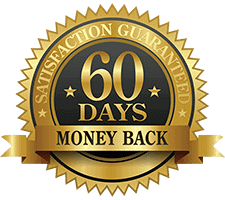 60 day money back guarantee badge