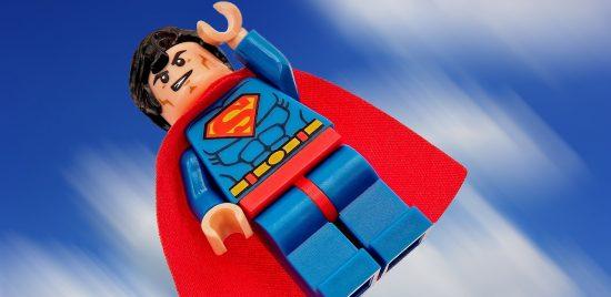 Superman very fast