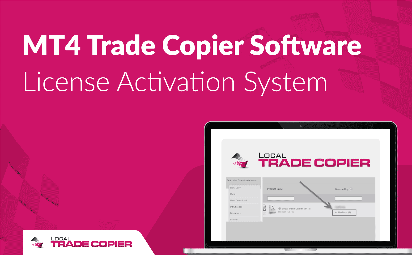 MT4 Trade Copier Software License Activation System